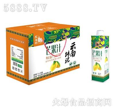 大马邦芒果汁饮料1Lx4瓶