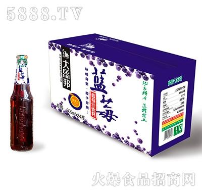 大马邦305x24蓝莓汁外箱