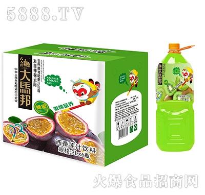 大马邦2Lx6塑瓶猕猴桃汁饮料