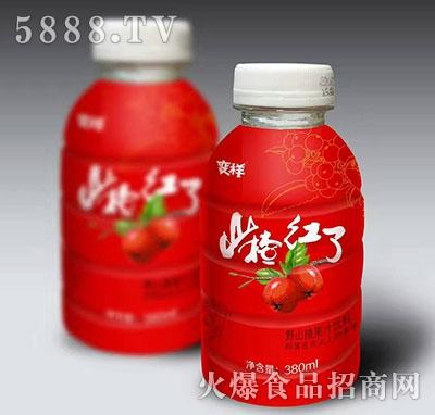 变样山楂红了野山楂果汁饮料380ml