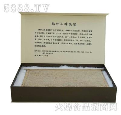 鹤伴山原生态蜂巢蜜礼盒