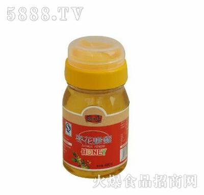 鹤伴山枣花蜂蜜480克