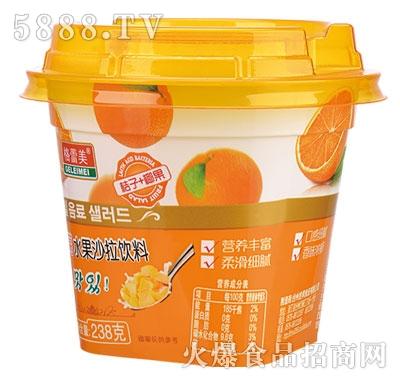 格蕾美水果沙拉饮料桔子+椰果238g