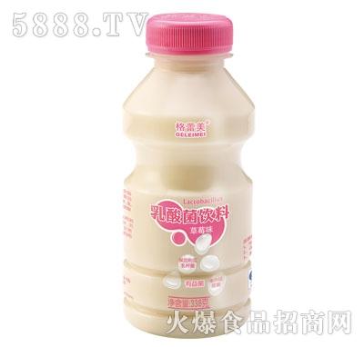 格蕾美乳酸菌饮料草莓味338克