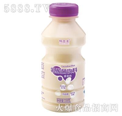 格蕾美乳酸菌饮料香草味338克