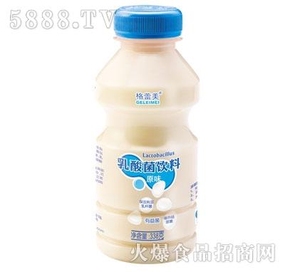 格蕾美乳酸菌饮料原味338克