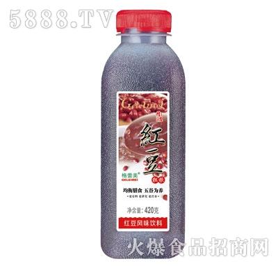 格蕾美红豆风味饮料420g