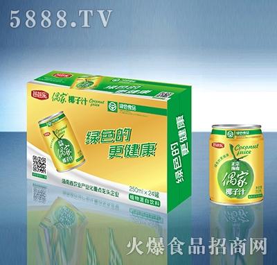 偶家椰子汁250mlX24罐