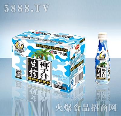 生榨椰子汁500gX15