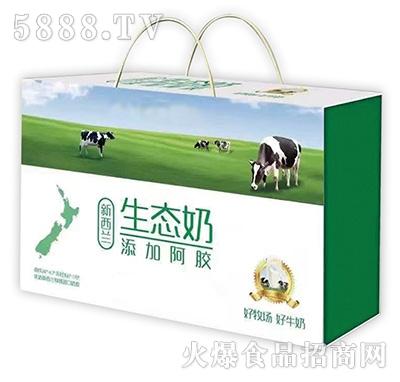 牛初乳纯香经典父亲 山东牛乳业礼盒视频关于的图片