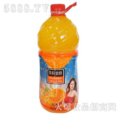 孙掌柜果粒蜜橙2.58L
