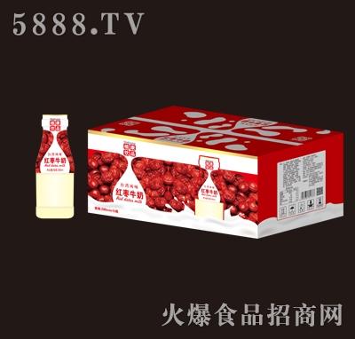 植康红枣牛奶280mlx15瓶