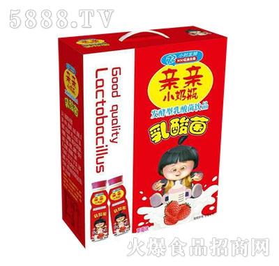 亲亲小奶瓶发酵型乳酸菌饮品草莓味