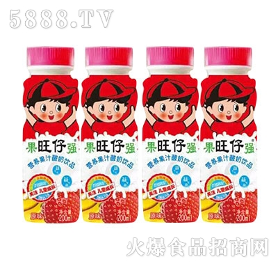 营养果汁酸奶饮品200ml