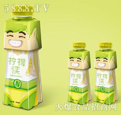 柠檬侠柠檬味水果饮料480ml