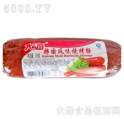 大海韩国风味烧烤肠350g
