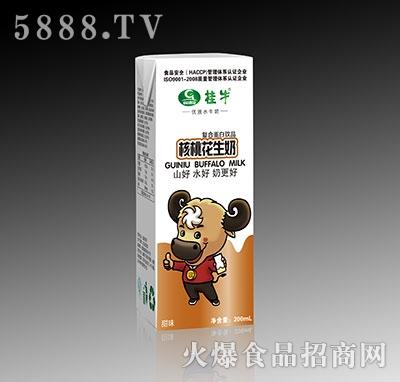 桂牛核桃花生水牛奶