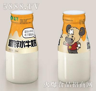 桂牛富锌水牛奶200ml