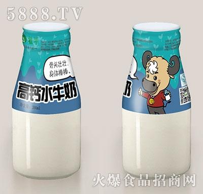 桂牛高钙水牛奶200ml瓶装