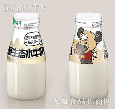 桂牛原生态水牛奶200ml