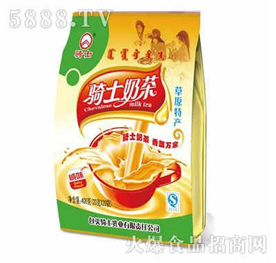 骑士奶茶咸味400g