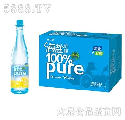 海盐+柠檬海盐果味饮料500mlx15瓶