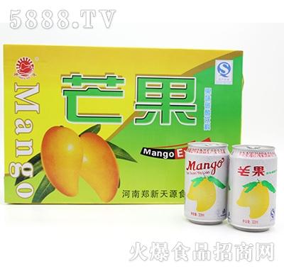 芒果饮料碳酸果味饮料箱装