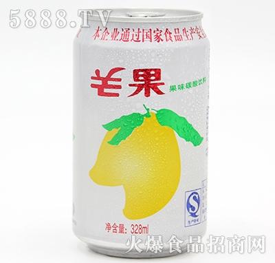 芒果碳酸果味饮料328ml