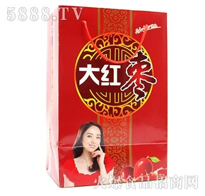 汇大大红枣饮料手提礼盒