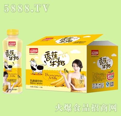 500ml乳酸菌香蕉牛奶