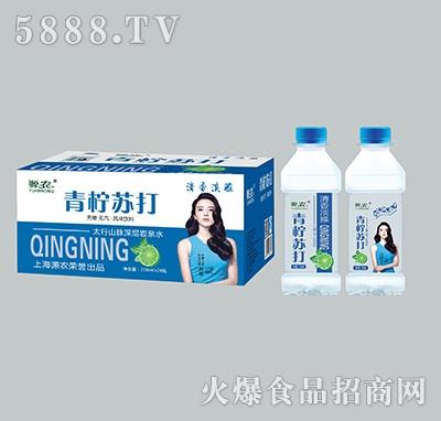 350mlx24瓶源农青柠苏打水