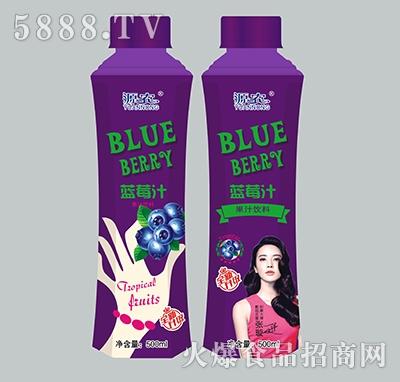 500ml源农蓝莓汁饮料