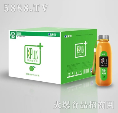 米奇KPlus+ 苹果醋饮料408ml×12瓶