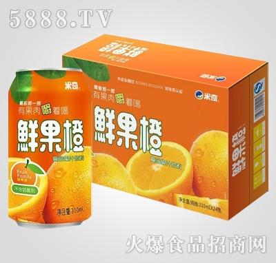 鲜果橙复合果汁饮料310ml×24罐