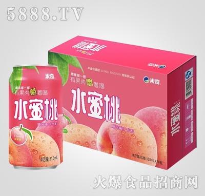 水蜜桃复合果汁饮料310ml×24罐