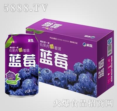 蓝莓复合果汁饮料310ml×24罐
