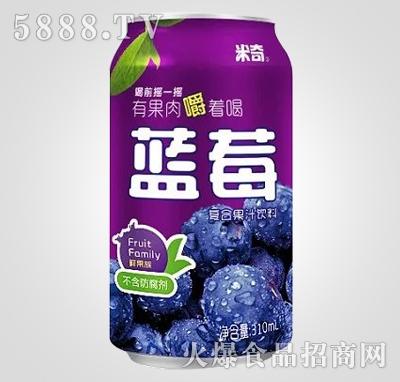 蓝莓复合果汁饮料310ml