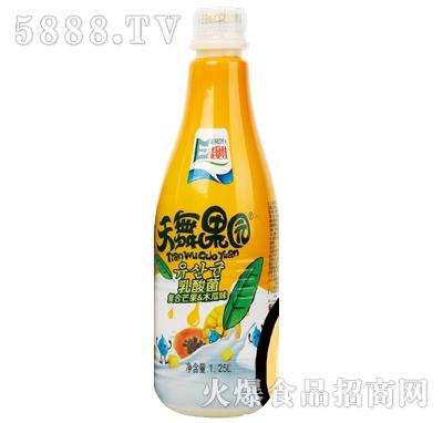 1.25lx6瓶天舞果园乳酸菌复合芒果木瓜味
