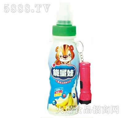 200mlx24瓶能量娃儿童成长风味饮料香蕉味