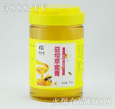 孟兹黑1000g益母草蜂蜜