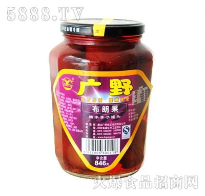 广野糖水李子罐头846g