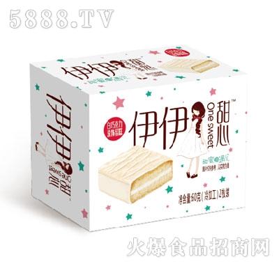 伊伊甜心白色巧克力蛋糕60g