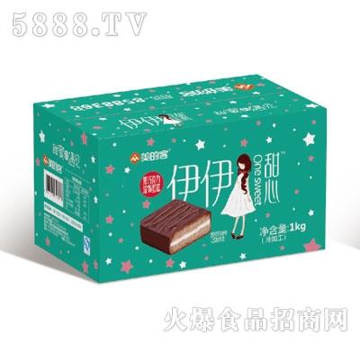 伊伊甜心黑巧克力蛋糕1KG