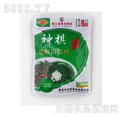 神棋60g泡椒海带丝产品图