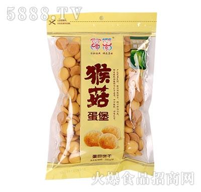 万蓉猴菇蛋堡蛋圆饼干200gX24袋