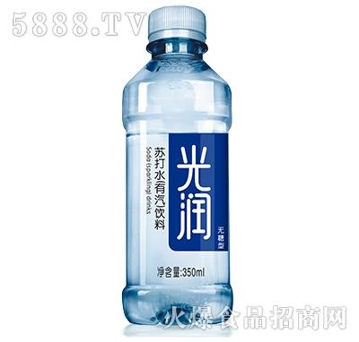 初福光润苏打水有汽饮料350ml