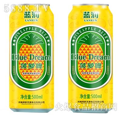 蓝润菠萝啤500ml