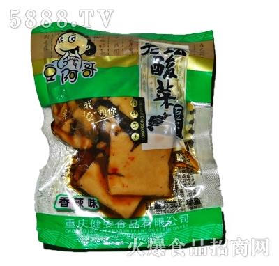 豆阿哥酸菜豆干(香辣味)