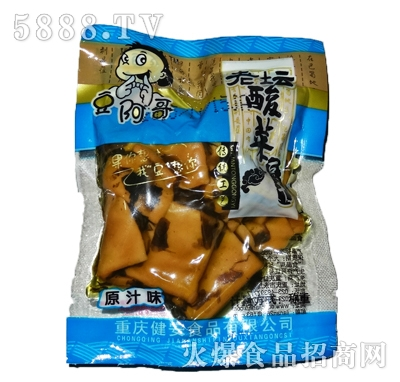 豆阿哥酸菜豆干(原汁味)
