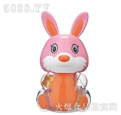 150g粉色小兔卡通玩具果冻产品图